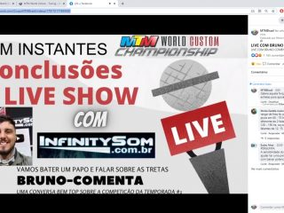 Bruno da Infinity Sound comenta a LIVE SHOW Temporada 1.