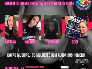 """CATEGORIA FEMININA """"LIVE SHOW TP5"""""""